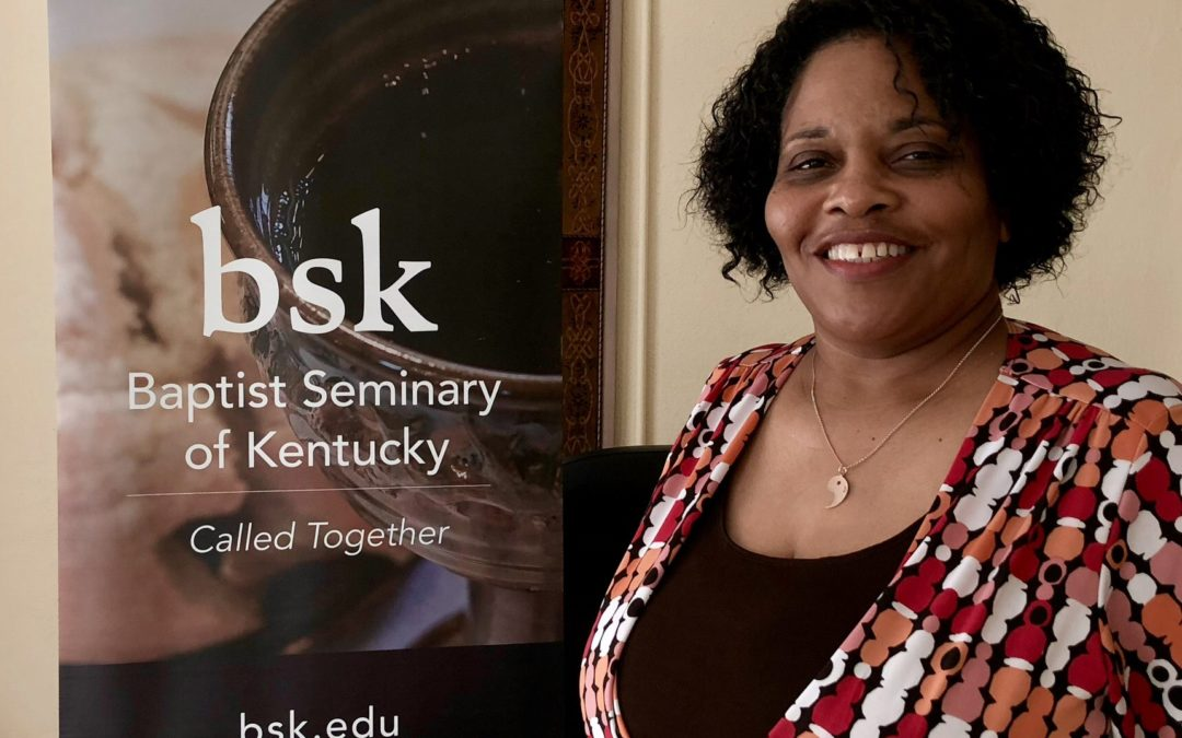 BSK Student Janine Williams Preaches Initial Sermon