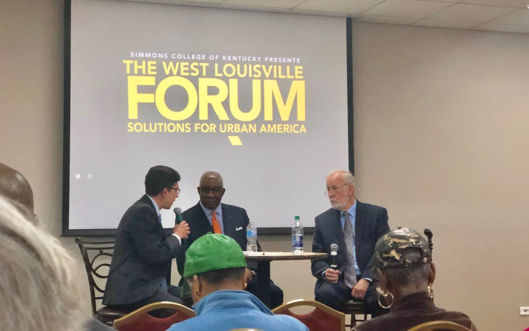 Dr. Wade Rowatt Participates in West Louisville Forum