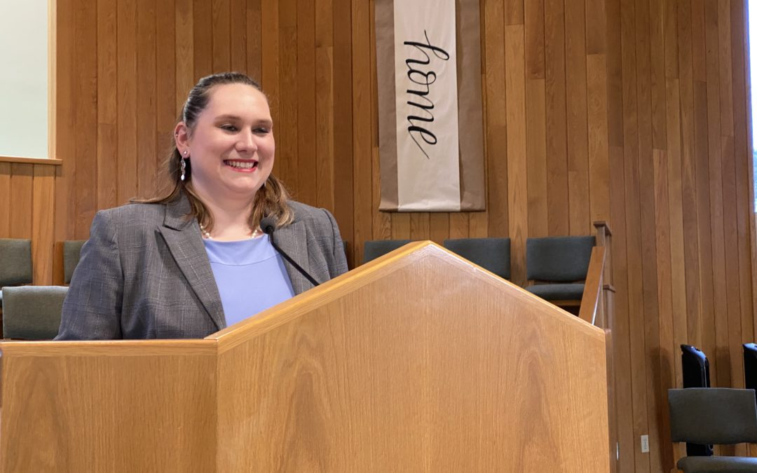 Morgan Fritz Preaches at Faith Baptist Church