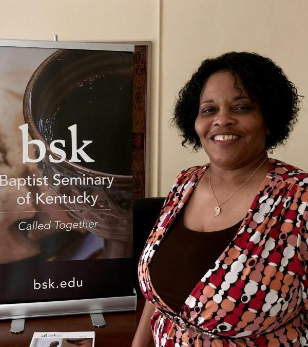 Community prayers led by BSK student Janine Williams