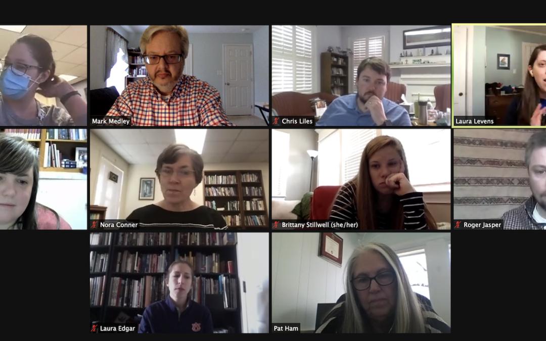 Alumni reading group reconvenes