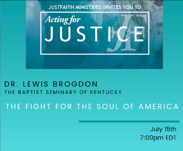 """Brogdon speaks addresses issue of national identity in relation to """"The Soul of America"""""""